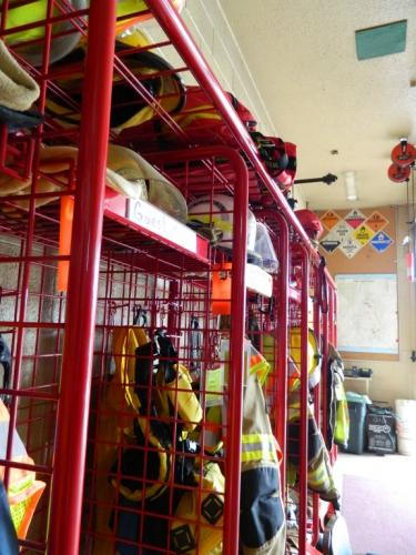 Station 2 - Firefighters' Gear